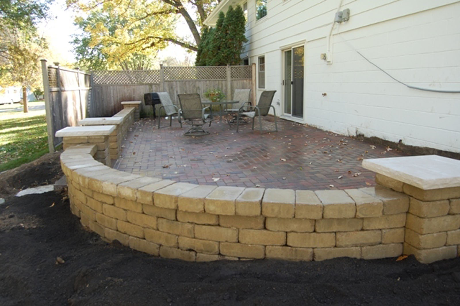 Golden Valley Patio After