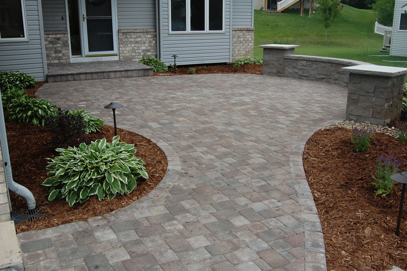 Front Entrance Patio Chaska